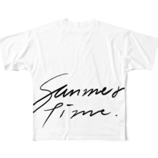 Summer time Full graphic T-shirts