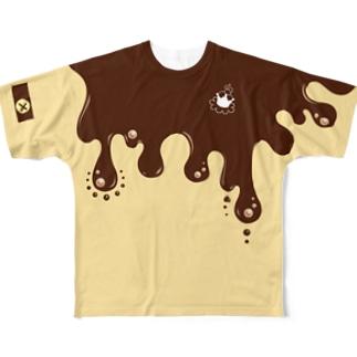 39RiのちょたTシャツ(イエロー) Full graphic T-shirts