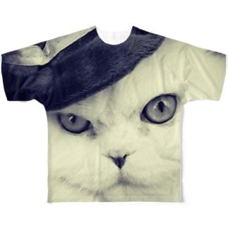 ゴッドファーザーコロネさん Full graphic T-shirts