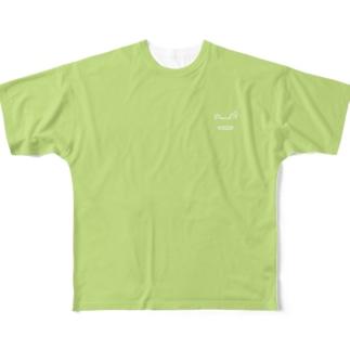 かえるんるん Full graphic T-shirts
