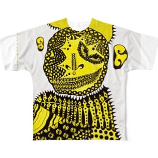 山田君 Full graphic T-shirts