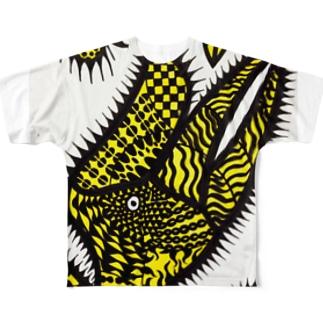 サイチョウ Full graphic T-shirts