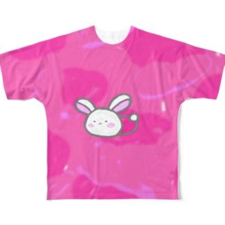 うえむーピンクTシャツ Full graphic T-shirts