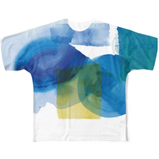 blue parts 01 Full graphic T-shirts