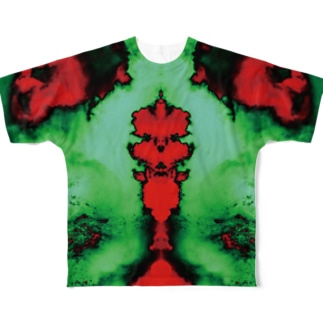 Rorschach 3 Full graphic T-shirts