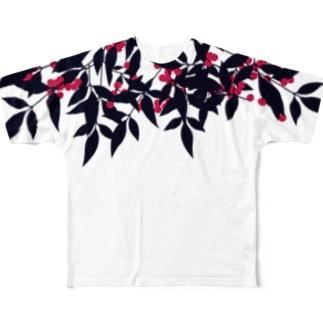 南天 Full graphic T-shirts