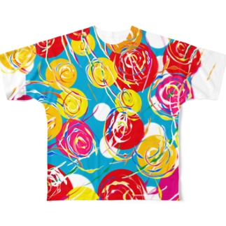 yo-yo Full graphic T-shirts
