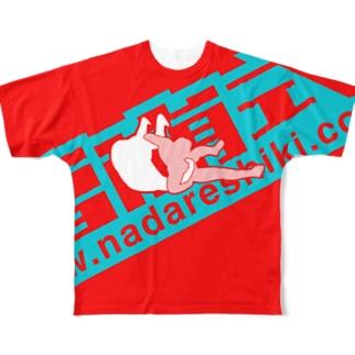 雪崩式ロゴ/キドクラッチC Full graphic T-shirts