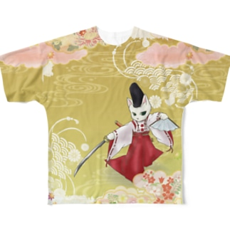 白拍子 Full graphic T-shirts