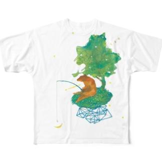 ピリカ Full graphic T-shirts
