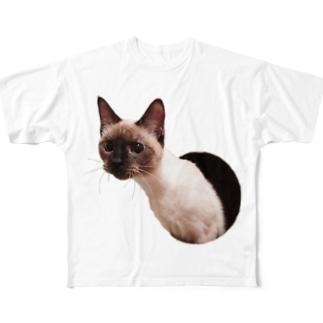 穴から出てくるクレア Full graphic T-shirts