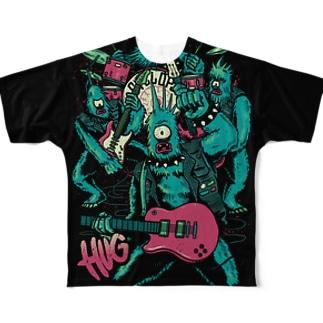 Legendary Monster Band Full graphic T-shirts
