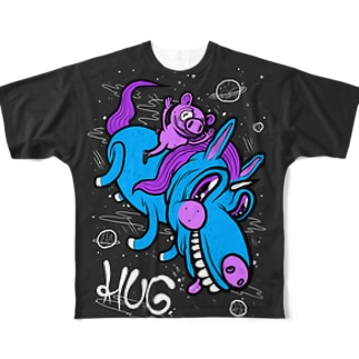 Universe Is AWESOME Full graphic T-shirts