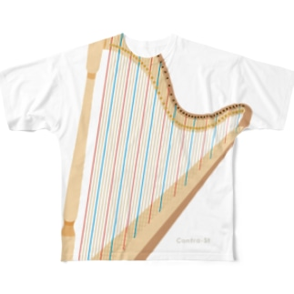 How many Harp Strings? Full graphic T-shirts