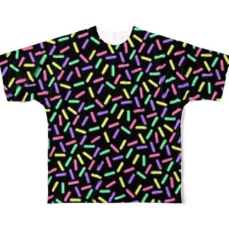 フレーク(ビター) Full graphic T-shirts