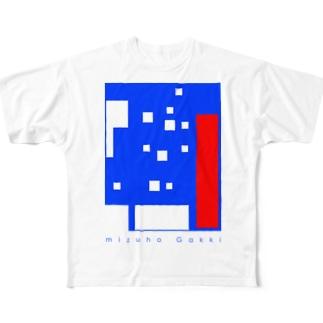 みずほビルディング Full graphic T-shirts
