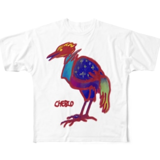 C.B.Bird Full graphic T-shirts