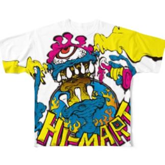Hi-MART MONSTER A Full graphic T-shirts