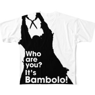 It's Bambolo!(バンボロ) Full graphic T-shirts