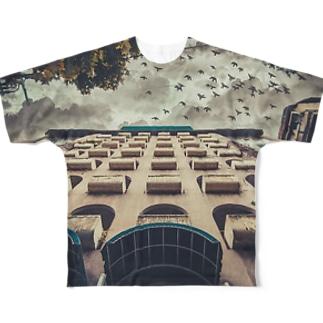 Dream birds T-shirt Full graphic T-shirts