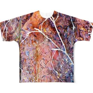 レンガ Full graphic T-shirts