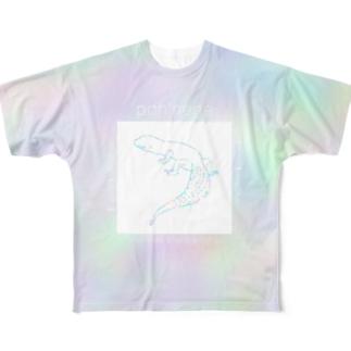 ポンネネ説明書 All-Over Print T-Shirt