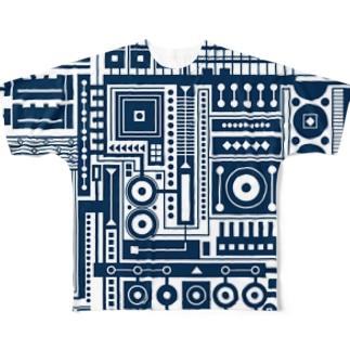 製造番号027 Full graphic T-shirts