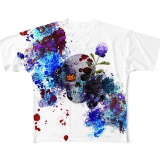 腐海樹 Full graphic T-shirts