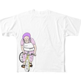 おかんの大腿四頭筋 Full graphic T-shirts