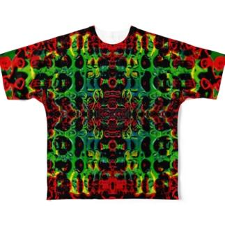 Cyborg KONISHI  Full graphic T-shirts