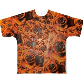 束縛の魔眼 Full graphic T-shirts