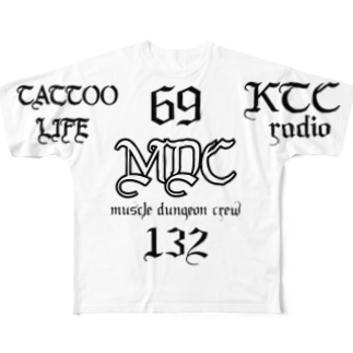MDC   × TATTOO LIFE Full graphic T-shirts