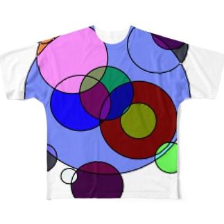 重丸 Full graphic T-shirts