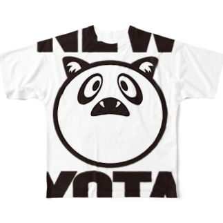 NEW YOTAのNEW YOTA LOGO1 Full graphic T-shirts