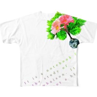 whaison2016future フルグラフィックTシャツ