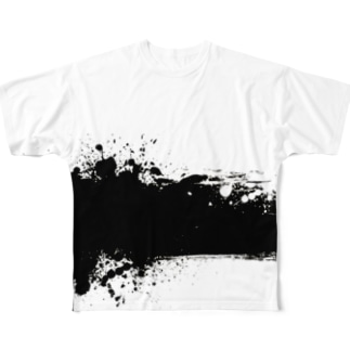 Artwork Artist JuRanのOfficialグッズ Full graphic T-shirts