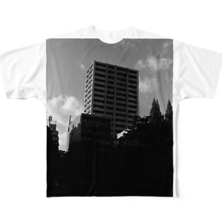 ビル Full graphic T-shirts