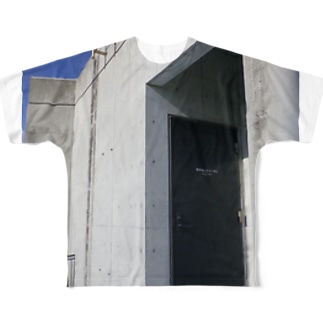 BLUE EXIT2 Full graphic T-shirts
