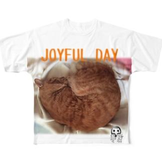 JOYFUL DAY Full graphic T-shirts