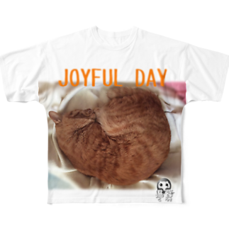 JUICY PICTURES.のJOYFUL DAY Full graphic T-shirts