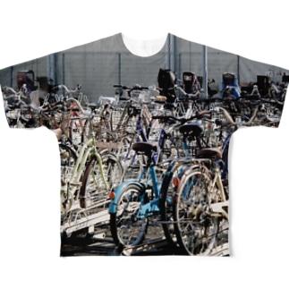 駐輪場 Full graphic T-shirts