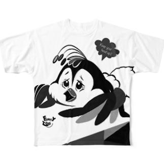 コトリ 〜FUNKY ZOO〜 Full graphic T-shirts