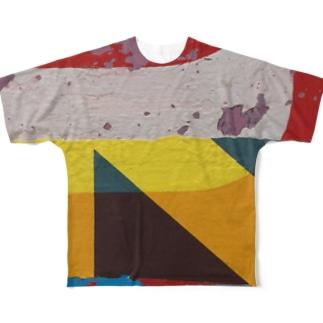 Cellophane セロファン Type3 Full graphic T-shirts