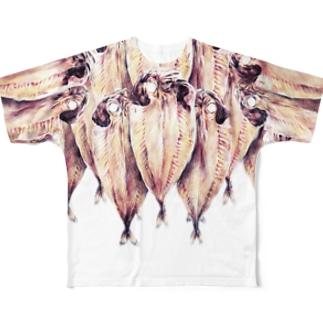 アジ Full graphic T-shirts