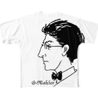 GraphicersのG.Mahler Full graphic T-shirts
