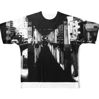 River Full graphic T-shirts