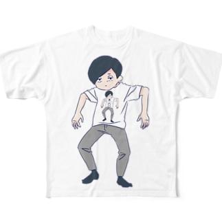 無限無気力 Full graphic T-shirts