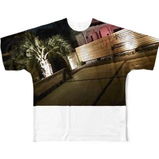外構工事K Full graphic T-shirts