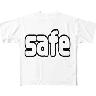 safe/out Full graphic T-shirts