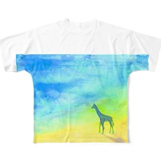 Now Sea  フルグラフィックTシャツ